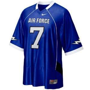 Nike Air Force Falcons #7 Replica Football Jersey   Royal