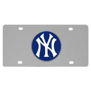 New York Yankees Logo Plate Sports & Outdoors
