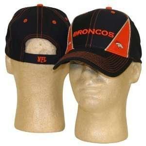 Denver Broncos NFL Two Tone Triangle Adjustable Hat