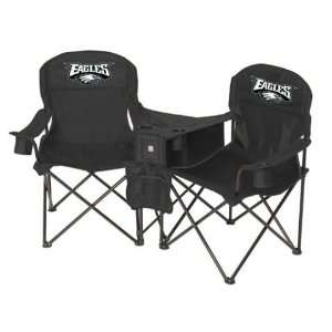 Philadelphia Eagles NFL Deluxe Folding Conversation Arm Chair