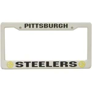 NFL PITTSBURGH STEELERS LICENSE PLATE FRAME  Sports