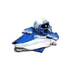 Lions Youth NFL Team Helmet and Uniform Set (Small)