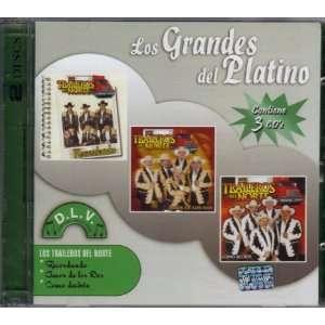 Los Traileros Del Norte  Los Grandes Del Platino3cds EMI Music