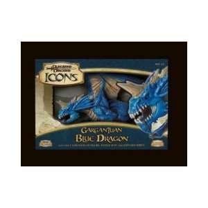 Gargantuan Blue Dragon (Dungeons & Dragons Icons) Toys & Games