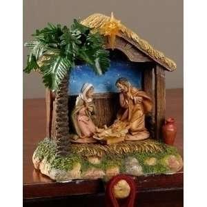 Holy Family * Nativity Village Collectible 54652 Patio, Lawn & Garden