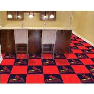 Saint Louis Cardinals MLB Team Logo Carpet Tiles