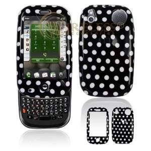 Palm PRE PDA Black/White Polka Dot Design Protective