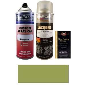 12.5 Oz. Pepper Green Metallic Spray Can Paint Kit for 2008 Saab 9 3