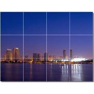 City Scenes Photo Wall Tile Mural 19  24x32 using (12
