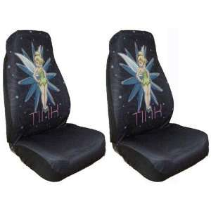 Tinkerbell Power Pixie Car Bucket Seat Covers   One Pair
