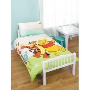 Winnie the Pooh Playground Panel Junior Cot Bed Duvet