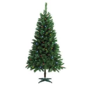 Prelit Multi Colored LED Christmas Tree BOWO999151AC1