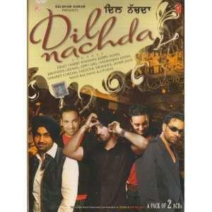 Dil Nachda Punjabi Songs 2 CD Set Diljit Music
