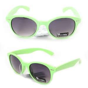 Fashion Sunglasses 6908 Green Plastic Frame Purple Black Gradient Lens