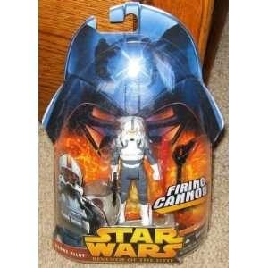 com Star Wars Clone Pilot Gray Suit Revenge of the Sith Action Figure