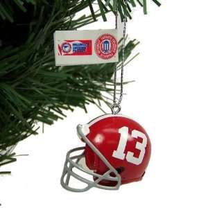 Alabama Crimson Tide NCAA Mini Helmet Ornaments 4 Pack