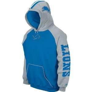 Reebok Detroit Lions Helmet Hooded Fleece Sports