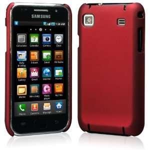 (Matte Dark Red) Plastic Case For Samsung Galaxy S i9000/ SC