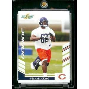 2007 Score # 289 Michael Okwo   Chicago Bears   NFL