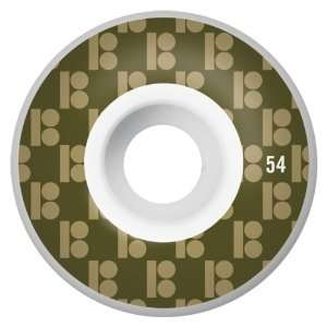 Plan B Monogram Series 54MM Skateboard Wheels (Set of 4