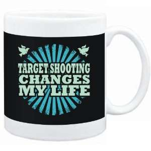 Mug Black  Target Shooting changes my life  Hobbies