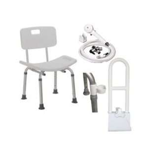 Drive Medical Deluxe Shower Chair Kit