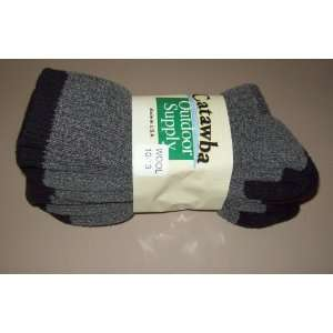 2 Pairs Mens Merino Wool Boot Socks NEW