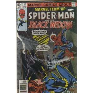 Marvel Team Up Spider Man and Black Widow #82 (Vol. 1
