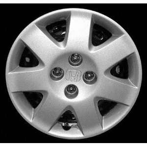 01 02 HONDA CIVIC SEDAN WHEEL COVER HUBCAP HUB CAP 15 INCH, 7 SPOKE