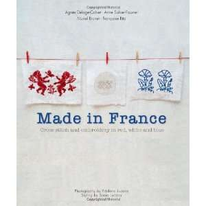 Made in France Cross Stitch and Embroidery in Red, White