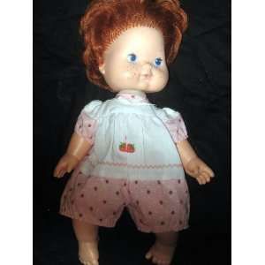 vintage strawberry shortcake blow kiss doll