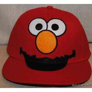 Sesame Street ELMO Red Embroidered Snapback Adult Baseball