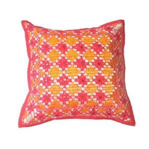 Mirrorwork Decorative Throw Pillow Cover