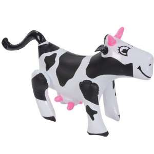 Inflatable Cow Farm Animals (1 dz) Toys & Games