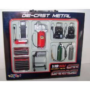 Garage Accessory Set for Your 1/18 Scale Diecast Cars Toys & Games