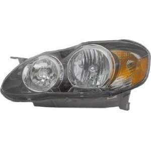 Toyota Corolla S Sedan Driver Lamp Assembly Headlight Automotive