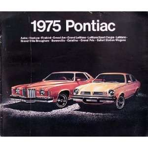 1975 Poniac, Firebird, & rans Am Original Sales Brochure