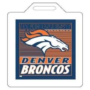NFL Denver Broncos Seat Cushion   Set Of 2