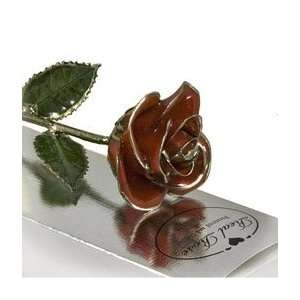 Valentines Day Red Platinum Dipped Rose