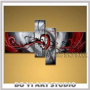 Modern Abstract Oil Painting On Canvas Wall Art Contemporary