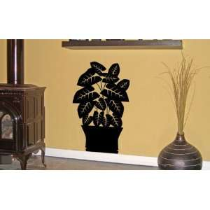 House Plant Vinyl Wall Decal Sticker