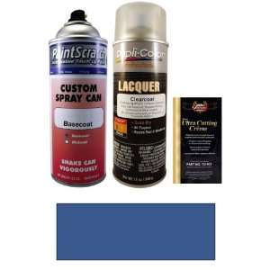 12.5 Oz. Daytona Blue Metallic Spray Can Paint Kit for 1988 Dodge All