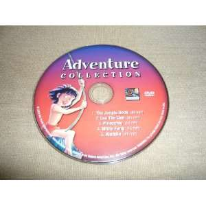 ADVENTURE COLLECTION   5 Movie Set   Aladdin/White Fang/Jungle Book