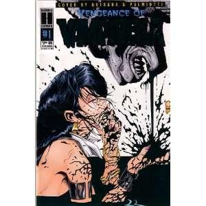 Vengeance of Vampirella, VOL 1, #1 (Comic Book) Blue Cover