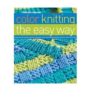Potter Craft Books Color Knitting The Easy Way