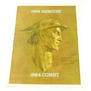 com 1964 64 MERCURY BROCHURE Cliente Comet Maruader Everything Else