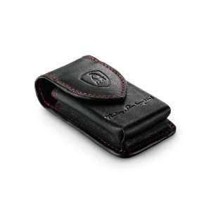 Leather Lighter Pouch with Belt Loop by Lamborghini