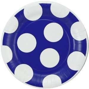 Duke Blue Devils 8 Pack Polka Dot Dinner Plates