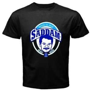Saddam Beer Logo New Black T shirt Size L Everything