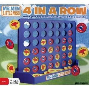 Mr. Men Show Mr. Men Four in a Row Game Toys & Games